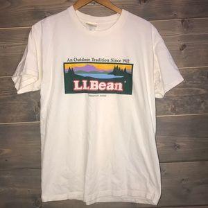 80's L.L. Bean t shirt